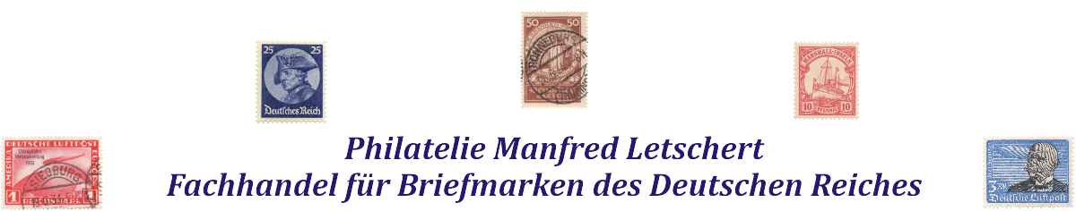 Philatelie Manfred Letschert